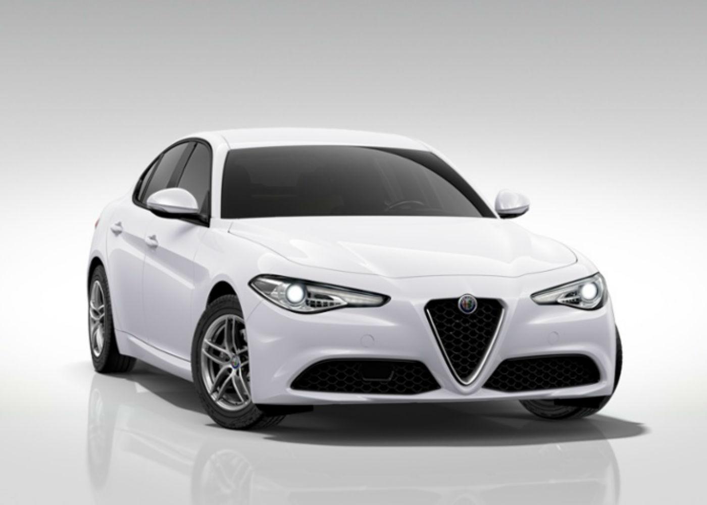 ALFA ROMEO Giulia 2.2 Turbodiesel 150 CV AT8 Bianco Alfa Km 0