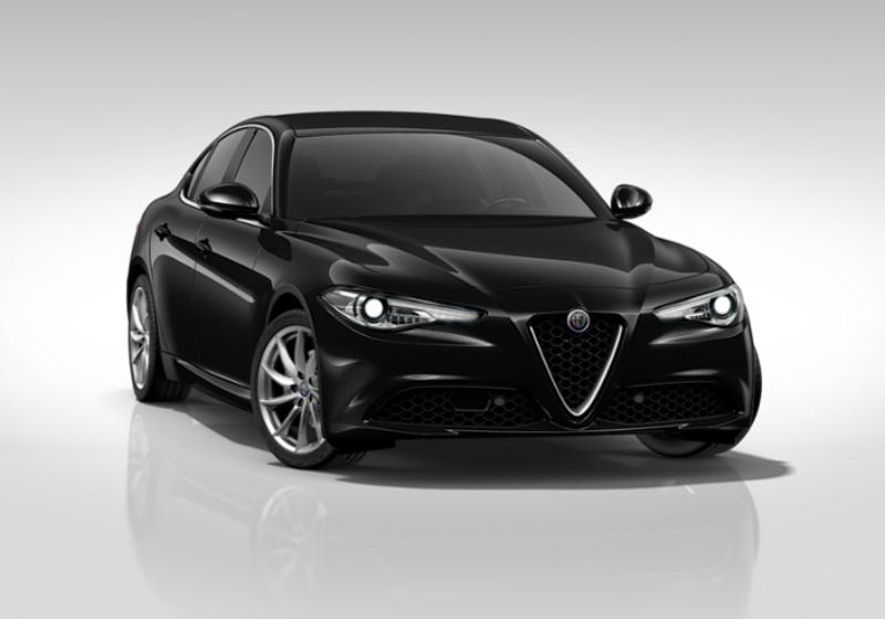 ALFA ROMEO Giulia 2.2 Turbodiesel 150 CV AT8 Super Nero Vulcano Km 0