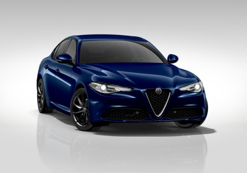 ALFA ROMEO Giulia 2.2 Turbodiesel 180 CV AT8 Sport Edition Blu Montecarlo Km 0