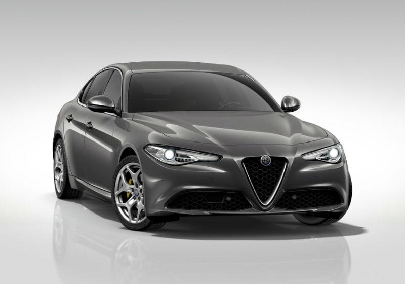 ALFA ROMEO Giulia 2.2 Turbodiesel 190 CV AT8 Executive MY19 Grigio Vesuvio Km 0