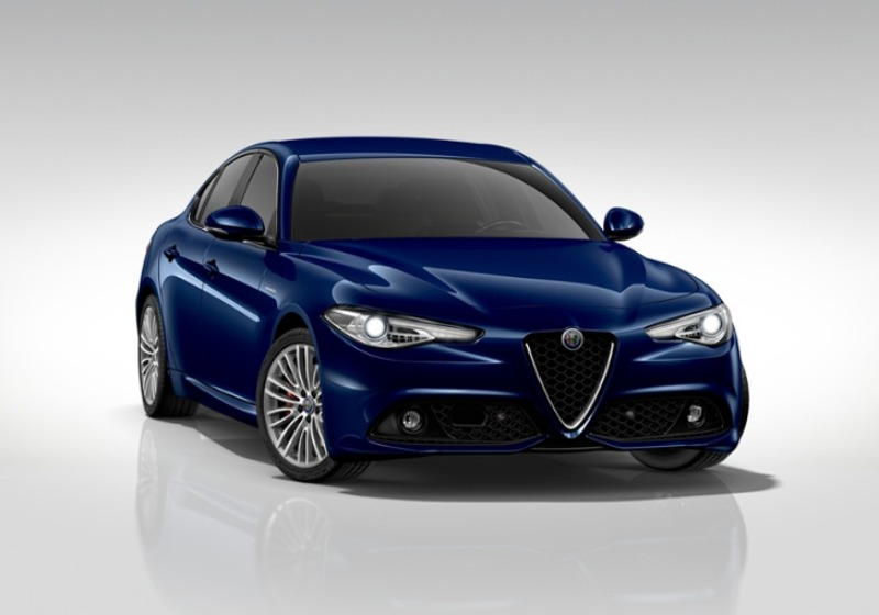 ALFA ROMEO Giulia 2.2 Turbodiesel 210 CV AT8 AWD Q4 Veloce Blu Montecarlo Km 0