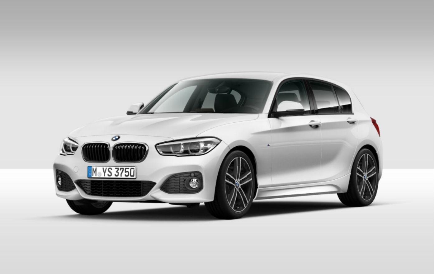 BMW Serie 1 116d 5p. Msport Saphirschwarz Km 0