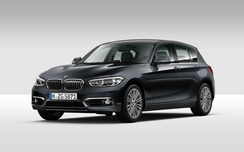 BMW Serie 1 118 5p. Urban Mineral Grau Km 0