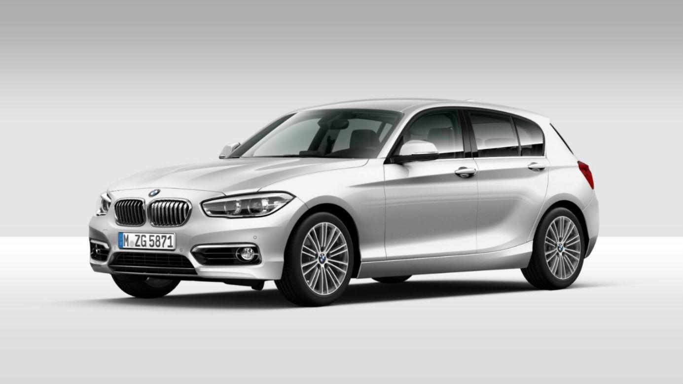 BMW Serie 1 118 5p. Urban Mineral White Km 0