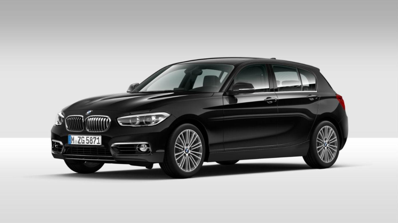 BMW Serie 1 118 5p. Urban Saphirschwarz Km 0