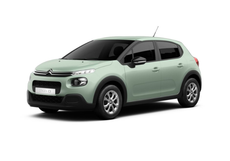 CITROEN C3 1.2 puretech Feel s&s 110cv Almond Green Km 0