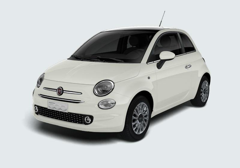 FIAT 500 1.2 Lounge my20 Bianco Gelato Km 0 0000VOX-a