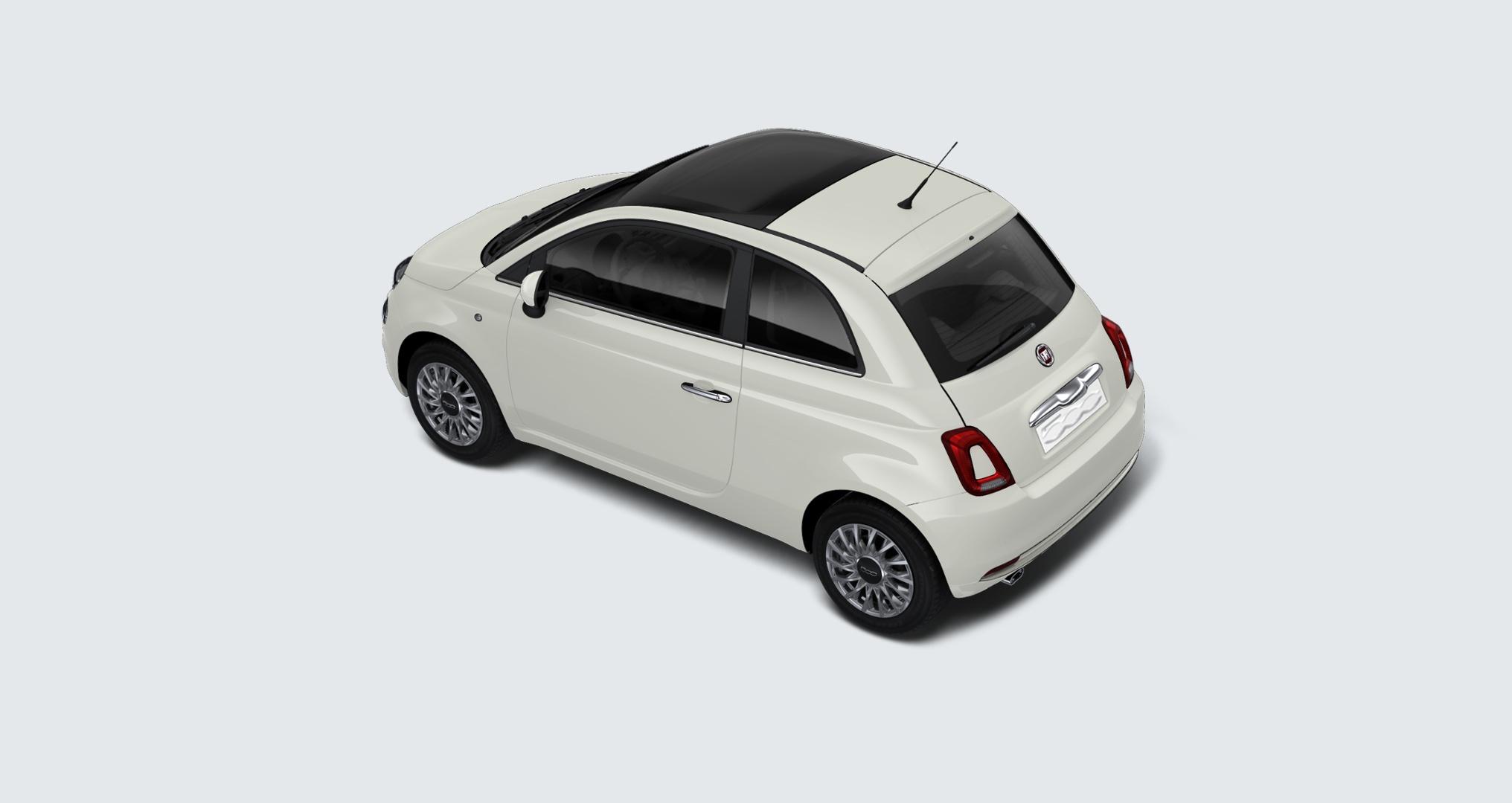 FIAT 500 1.2 Lounge my20 Bianco Gelato Km 0 0000VOX-d