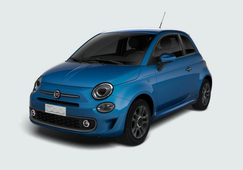 FIAT 500 1.2 S MY 19 Azzurro Italia Km 0