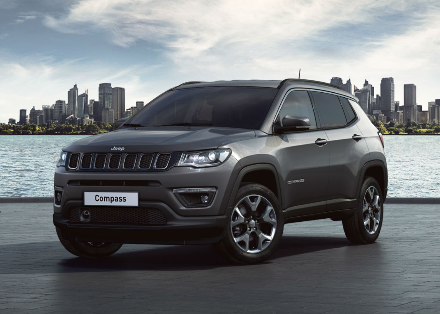 JEEP Compass 1.4 MultiAir 170 CV aut. 4WD Limited MY19 Granite Crystal Km 0