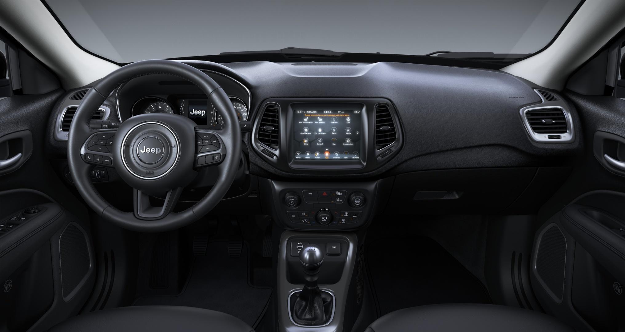JEEP Compass 1.6 Multijet II 2WD Business Granite Crystal Km 0 KBU0UBK-e