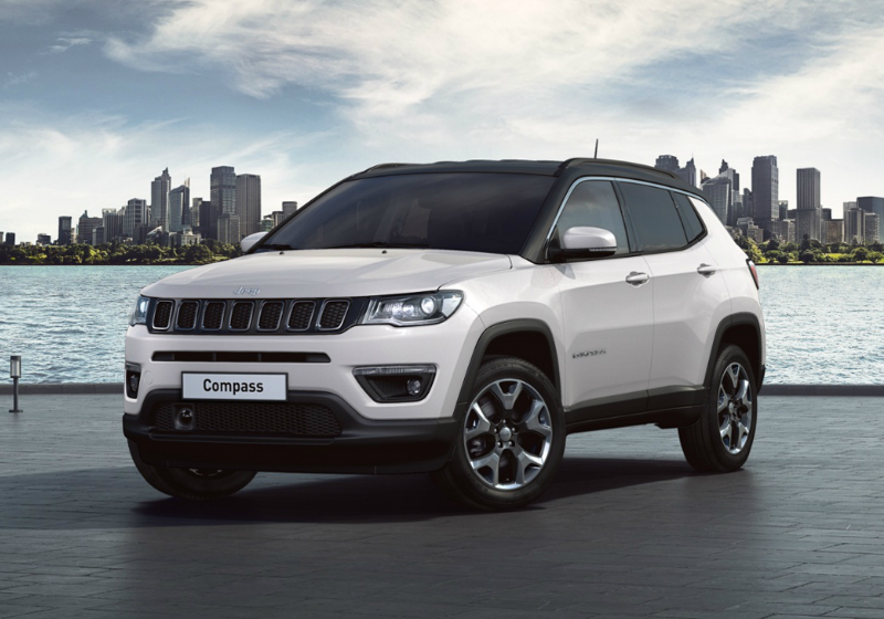 JEEP Compass 2.0 Multijet II aut. 4WD Limited Pearl White Km 0