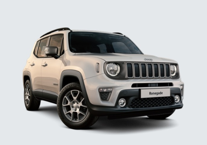 JEEP Renegade 1.0 T3 Limited MY19 Alpine White Km 0