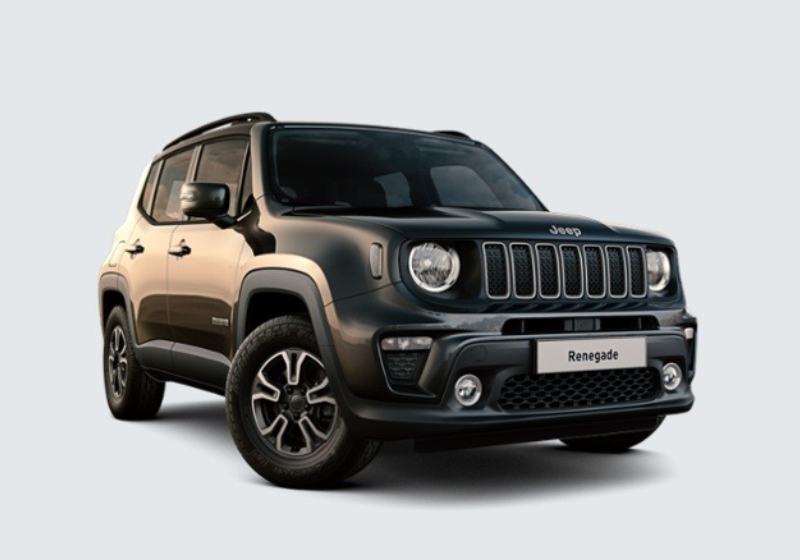 JEEP Renegade 1.0 T3 Longitude MY19 Carbon Black Km 0 0000VD3-a