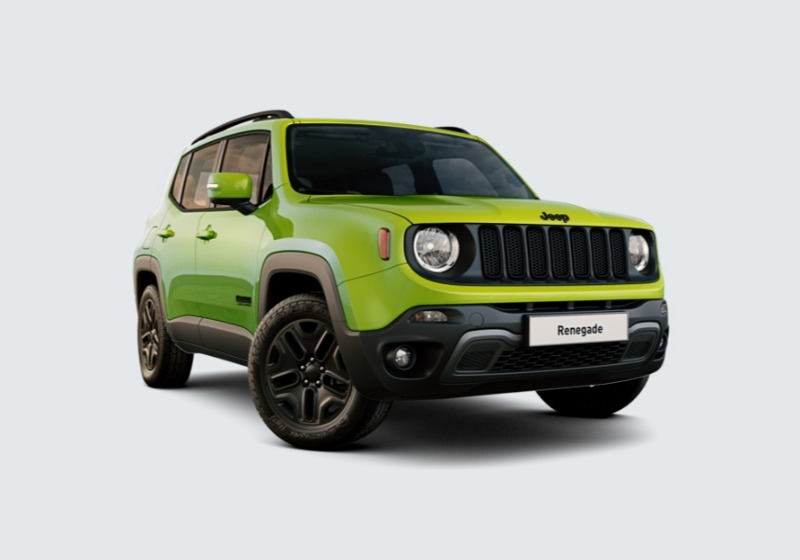JEEP Renegade 2.0 Mjt 140CV 4WD Active Drive Low Upland Hyper Green Km 0