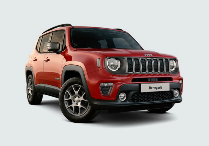 JEEP Renegade 1.0 T3 Limited MY19 Colorado Red Km 0