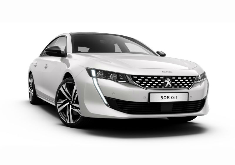 PEUGEOT 508 BlueHDi 180 EAT8 Stop&Start GT Bianco Madreperla Km 0