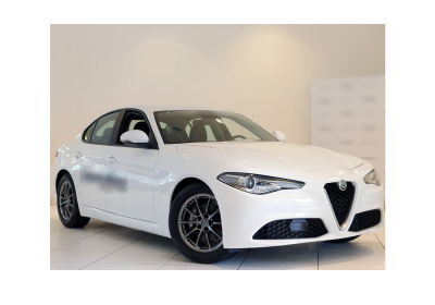 ALFA ROMEO Giulia 2.2 Turbodiesel 136 CV AT8 Business Bianco Alfa Km 0