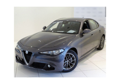 ALFA ROMEO Giulia 2.2 Turbodiesel 136 CV AT8 Business Grigio Vesuvio Km 0