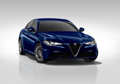 ALFA ROMEO Giulia 2.2 Turbodiesel 150 CV AT8 Business Blu Montecarlo Km 0