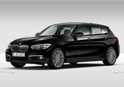 BMW Serie 1 118 5p. Urban Schwarz Km 0