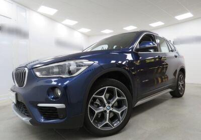 BMW X1 xdrive18d xLine auto Mediterranean Blue Usato Garantito