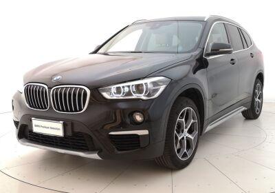 BMW X1 xDrive18d xLine Automatica Saphirschwarz Usato Garantito