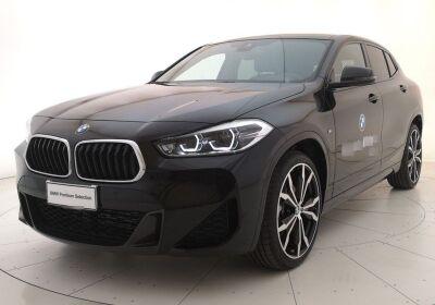 BMW X2 sDrive18d Msport Auto Saphirschwarz Km 0
