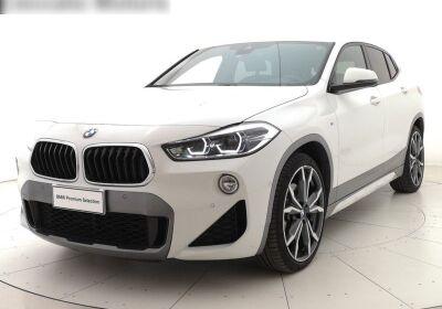 BMW X2 xdrive20d Msport X auto Alpinweiss III  Usato Garantito