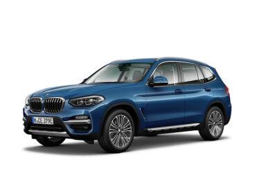 BMW X3 xdrive 30e Luxury auto Phytonic Blue Da immatricolare