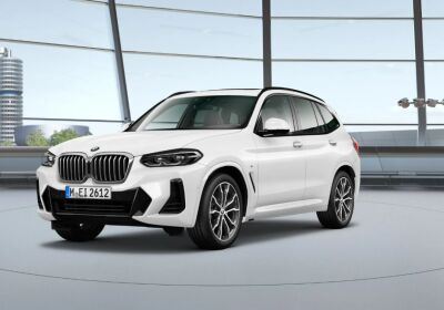 BMW X3 xDrive20d 48V Msport Auto Alpine White Da immatricolare