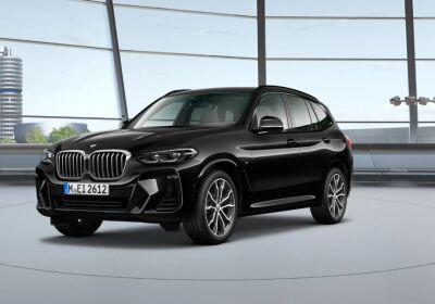 BMW X3 xDrive20d 48V Msport Auto Saphirschwarz Da immatricolare