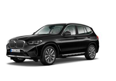 BMW X3 xDrive20d 48V Saphirschwarz Da immatricolare