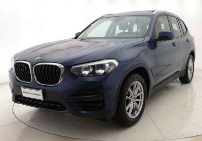BMW X3 xDrive20d Business Advantage Automatica Phytonic Blue Usato Garantito
