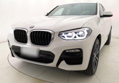 BMW X4 xDrive20d Msport auto Alpinweiss III  Usato Garantito