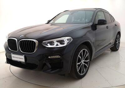 BMW X4 xDrive20d Msport auto Carbonschwarz Usato Garantito