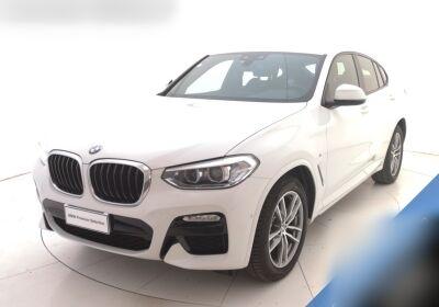 BMW X4 xDrive20d Msport Alpinweiss III  Usato Garantito