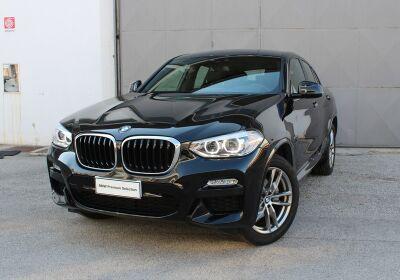 BMW X4 xDrive20d Msport Saphirschwarz Usato Garantito