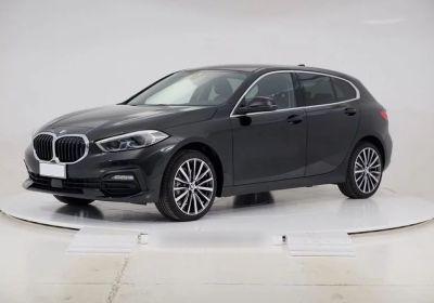 BMW Serie 1 116d 5p. Business Advantage aut. Schwarz Km 0