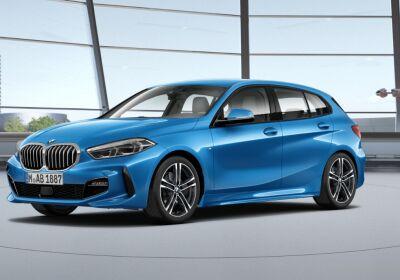 BMW Serie 1 116d 5p. MSport aut. Misano Blue Da immatricolare