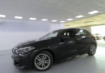 BMW Serie 1 116d 5p. MSport aut. Saphirschwarz Usato Garantito
