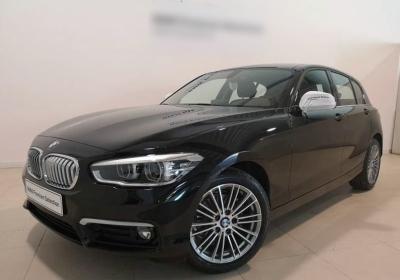 BMW Serie 1 116i 5p. Urban Schwarz Km 0