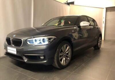 BMW Serie 1 118d 5p. Advantage Mineral Grau Km 0