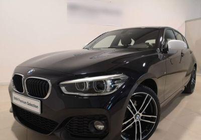 BMW Serie 1 118d 5p. Msport aut. Saphirschwarz Km 0