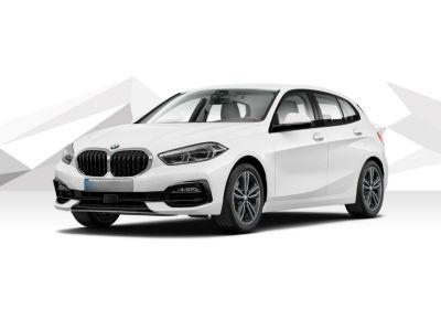 BMW Serie 1 118d 5p. Sport Auto Alpinweiss III  Km 0