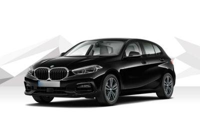 BMW Serie 1 118d 5p. Sport Auto Schwarz Km 0