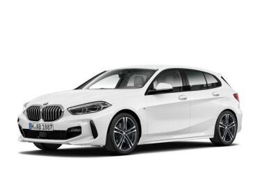 BMW Serie 1 120d Msport auto Alpinweiss III  Da immatricolare