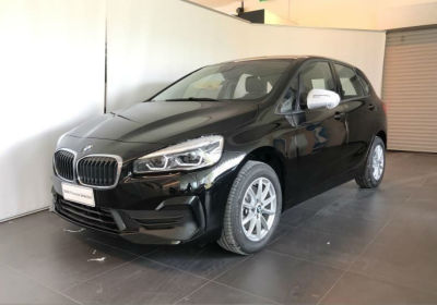 BMW Serie 2 216d Active Tourer Advantage Schwarz Km 0