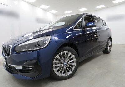 BMW Serie 2 218d act.tourer Luxury auto Mediterranean Blu Da immatricolare