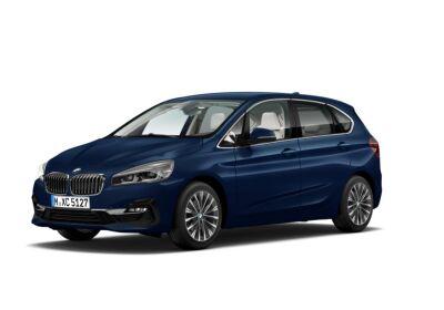 BMW Serie 2 218d act.tourer Luxury auto Mediterranean Blue Da immatricolare